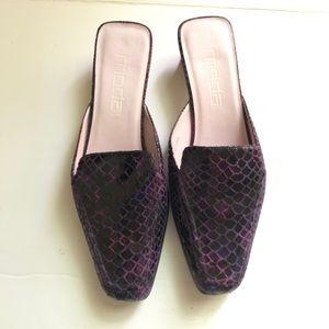 Vintage Moda Spana Mules Size 6.5